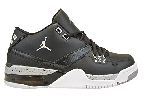 8e7038e0468c Nike Jordan Kids Jordan Flight 23 BG Black White Metallic Silver Basketball  Shoe 6 Kids US - Buy Online in Oman.