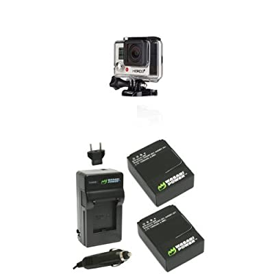 GoPro HERO3+: Silver Edition Power Bundle