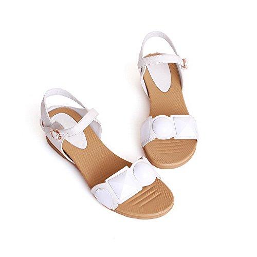 Sandales Blanches Avec Des Boucles 97a Tod bEovm
