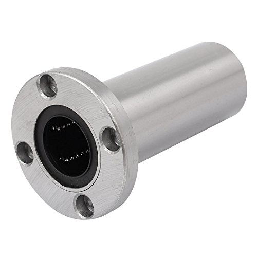 uxcell LMF30LUU 30mm Inner Dia Round Flange Type Linear Motion Ball Shaft Bearing