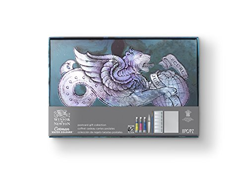 Winsor & Newton Cotman Water Color Postcards Gift Collection