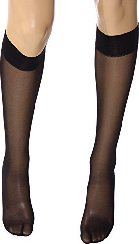 Wolford Satin Touch Knee Highs, Medium, Admiral -