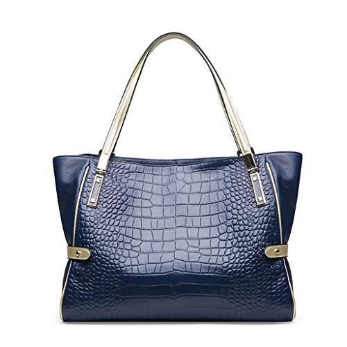 Lxf20 bandoulière mode américaine Foncé à main à Bleu dames momie à bandoulière grand sac et Sac sac PU européenne sac IwIqxCrv