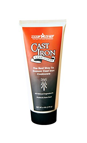 Chef Lid Camp Steel (Camp Chef CSC-8 6-Ounce Bottle of Cast-Iron Conditioner)