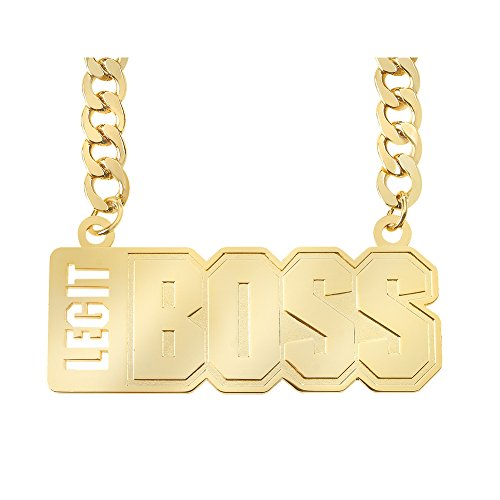 Sasha Banks Legit Boss Necklace