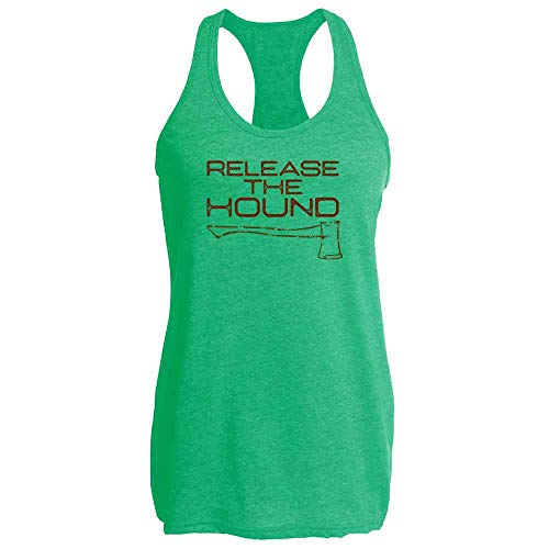 Release The Hound Heather Kelly M Womens Tank Top]()