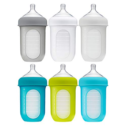 Boon Nursh Reusable Silicone Pouch Baby Bottles