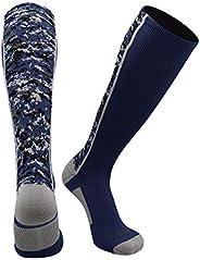 Digital Camo OTC Socks (Navy, Large)