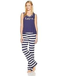 Mae Mujer Swing tanque Pajama Set