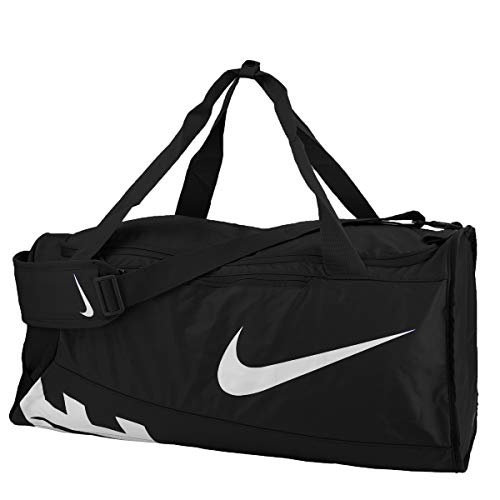 - Nike Alpha Adapt Crossbody Medium Duffel Bag Black/Black/White