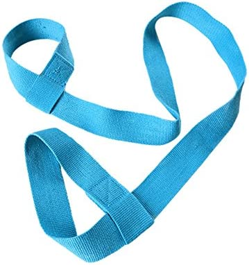 Chytaii Correa para Transportar Esterilla de Yoga Cinta Ajustable para Colchonetas de Yoga Correa de Algodón Elástica Correa Portátil