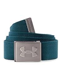 Under Armour de los Hombres Webbed cinturón, Verde Azulado (Nova Teal)