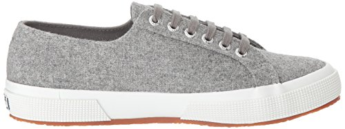 Superga Damen 2750 Woolmelw Fashion Sneaker Hellgrau