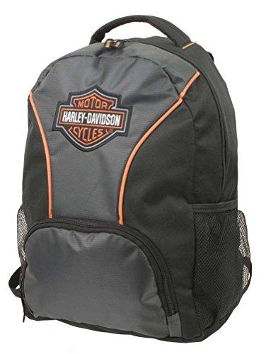 Harley-Davidson Embroidered Bar & Shield Colorblocked Backpack, Black 7180609