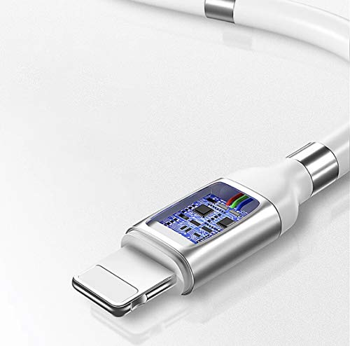 Winding New Technology Very Organized Portable Fashionable 3A Fast Charging Data Transfer Cord New 1.8m Type-C Magnetic Charging Cable White