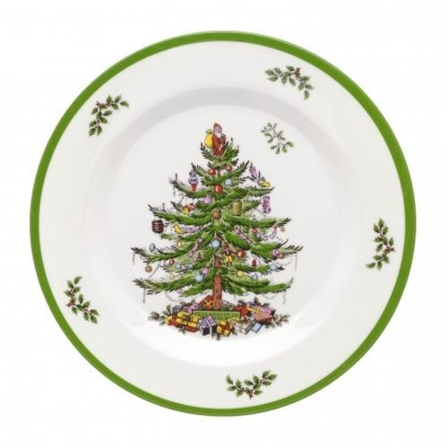 (Spode Christmas Tree Melamine Salad Plate, Set of)