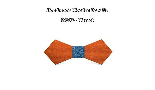 Corbata de Lazo para Hombres, Corbata de Lazo de Madera de Madera ...