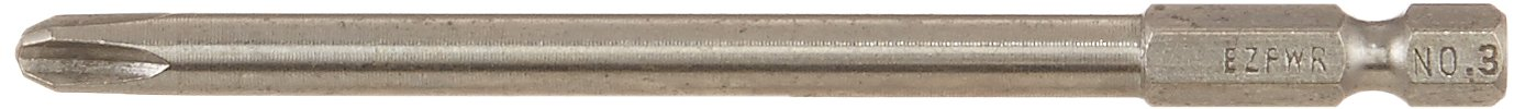 Eazypower 80401 No-3 Phillips 4-Inch Long (5-Pack) Eazypower 80401 #3 Phillips 4 Long (5 Pack)