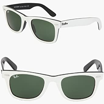 a02dbae039 2012 RAY BAN WAYFARER Sunglasses WEIß - RB2140 956 (50mm): Amazon.de ...