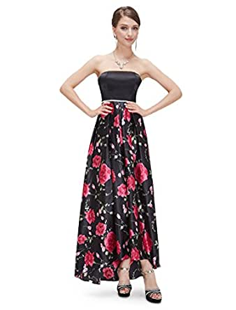 HE08391HP10,Hot Pink,8US,Ever Pretty Long Dresses Wedding Party 08391