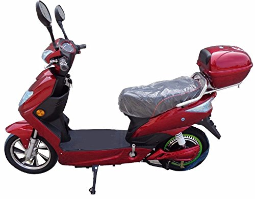 Emoto 48v 2018 Road Legal Electric Moped Scooter Bike. Free Gift Pack Worth...