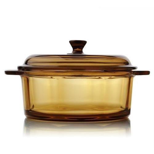 Endureglass 2 Liter Glass Cookware v2.0 - Safe for the dishwasher, freezer, microwave, oven, broiler, stovetop & dining