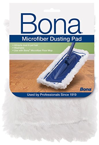 Bona Microfiber Dusting Pad 5 Count Pack Value Pkg by Bona