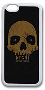 iPhone 6 Cases, Halloween 07 Personalized Custom Soft White Edge Case Cover for New iPhone 6 4.7 inch