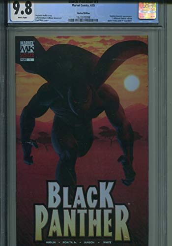 - Black Panther #1 CGC 9.8 Limited Edition VARIANT Cover
