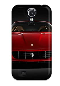 New Fashionable DanRobertse DyNcjTE6288BTSPR Cover Case Specially Made For Galaxy S4(ferrari Background)