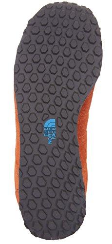 The North Face Hedgehog Sneaker Men in stile retrò, Arancione (arancione), 12 UK