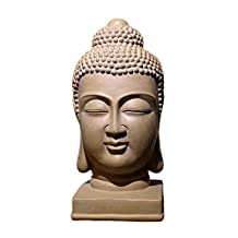 Chinese Buddha Statue Buddha Head Zen Ornaments Porch Living Room TV Cabinet Office Home Creative Soft Decorations