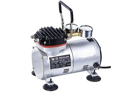 Mini bomba de vacío & Compresor De Aire De 2 En 1 sin aceite Mantenimiento *
