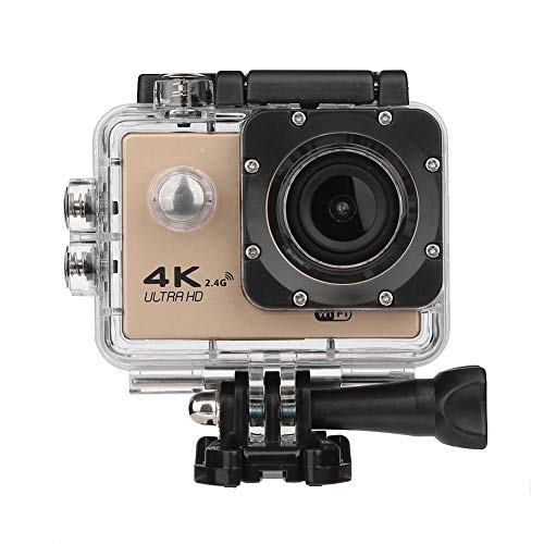 UNIhappy F60R 4K WiFi Remote Action Camera 1080P HD 16MP Waterproof Sports DV Camera