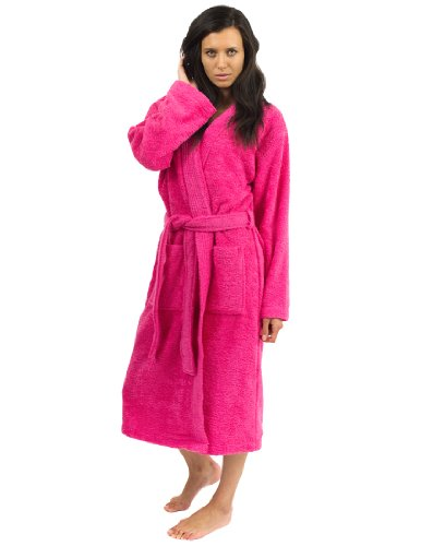 TowelSelections Women's Robe Turkish Cotton Terry Kimono Bathrobe Made in Turkey