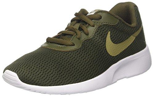 Nike Kid's Tanjun (GS) Running Shoes (6 Big Kid M, Cargo Khaki/Neutral Olive) ()