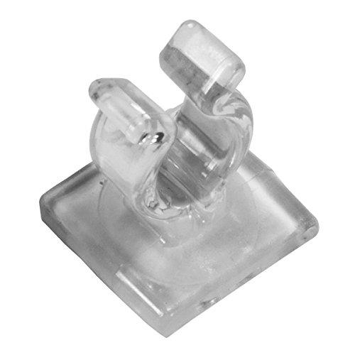 Mini Light Adhesive Clip, 100 ()
