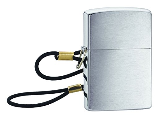 (Zippo Lossproof Ligher with Loop and Lanyard)