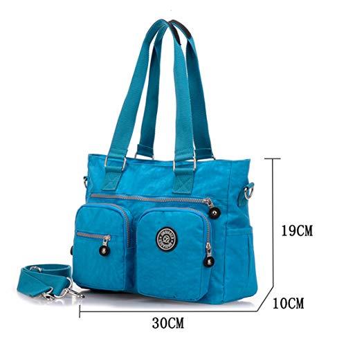 And Nameblue For Nylon Girls black Messenger Travel 1309 Shopping Tote Shoulder Bag eu School Womens 3118 Handbags Work 7rqUw7g