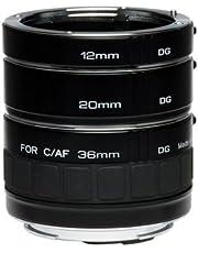 Kenko Tubo di Prolunga DG Set per Nikon AF, Nero