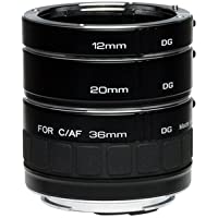 Kenko Auto Extension Tube Set DG for Nikon Lenses A-EXTUBEDG-N