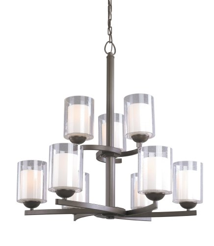 Woodbridge Lighting 12187 Cosmo 9 Light 29-1/