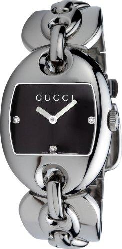 Gucci Marina Chain (GUCCI Women's YA121303 121 Marina Chain Diamond Watch)
