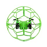Dacawin Helic Max Sky Walker 1340 2.4GHz 4CH Fly Ball RC Quadcopter 3D Flip Roller (Green)