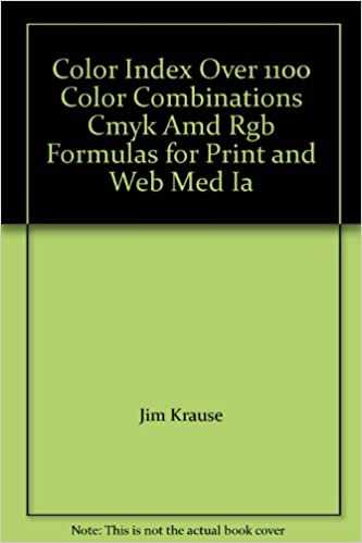 Color Index Over 1100 Color Combinations Cmyk Amd Rgb Formulas for ...
