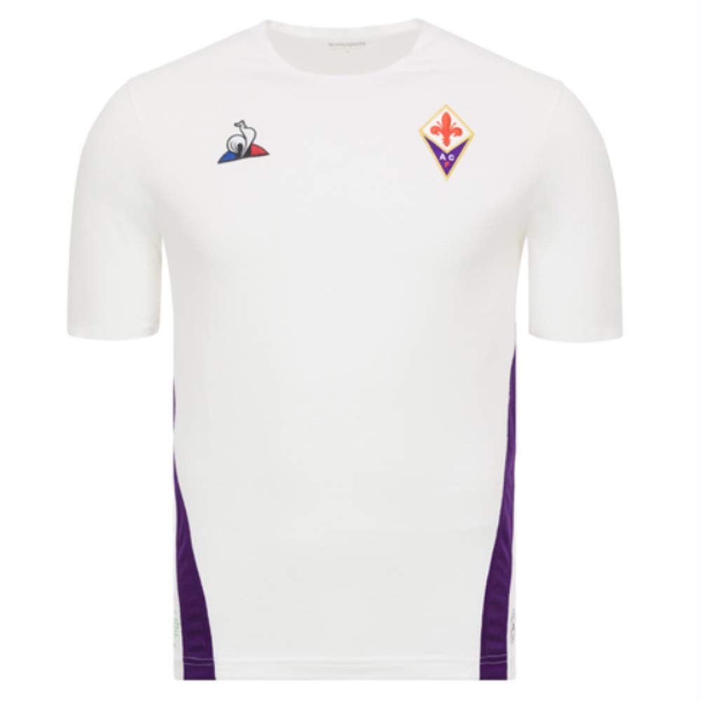 Le Coq Sportif 2018-2019 Fiorentina Away Football Soccer T-Shirt Trikot