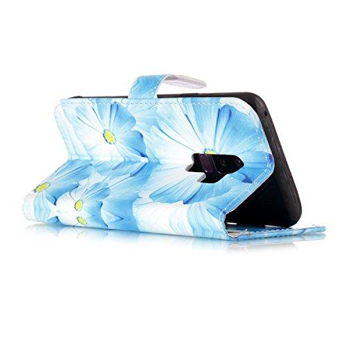 Samsung Galaxy S9 Plus PU Cuero Billetera Funda Flip Carcasa, Vandot [Modelo Lindo Perro] Dibujos Animados Patrón Diseño PU Cuero Magnética Folio Funda Carcasa con Stand Función y 9 Ranuras para Tarje DLS 07