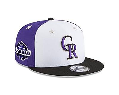 New Era Colorado Rockies 2018 MLB All-Star Game 9FIFTY Snapback Adjustable Hat – White/Black