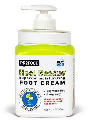 PROFOOT Heel Rescue Foot Cream, 16 Ounce (Pack of 3) Non-Greasy Foot Cream Ideal for Cracked Skin Calloused Skin or Chapped Skin on Feet Heels Elbows and Knees, Penetrates Moisturizes and Repairs by Profoot (Image #1)