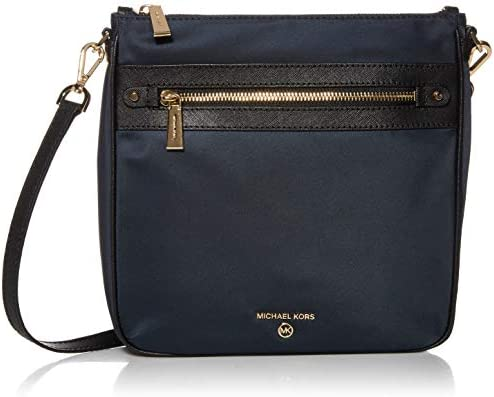 MICHAEL Michael Kors Jet Set Charm Large North/South Crossbody Navy Multi One Size